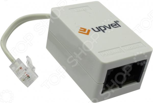 Сплиттер внешний Upvel US-AA RJ-11 телефон dect gigaset l410 устройство громкой связи