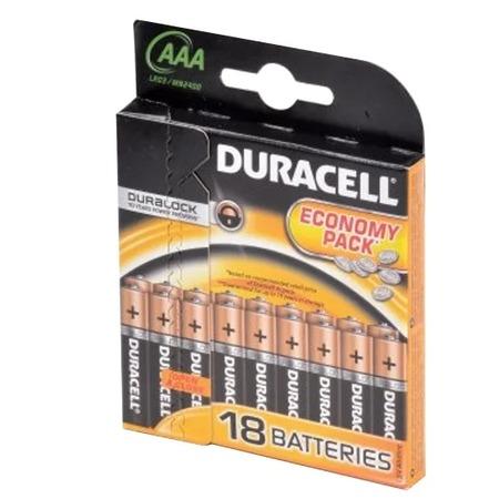Набор батареек Duracell Basic LR03-18BL