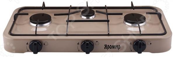 Плита настольная газовая Яромир ЯР-3013 плита настольная газовая яромир яр 3012