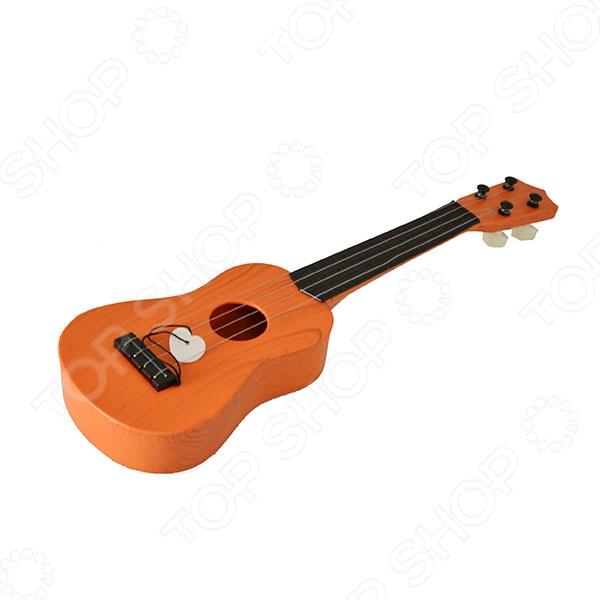 Гитара игрушечная Тилибом Т80327 станет прекрасным подарком для вашего ребенка и подарит ему огромное количество веселых минут и мгновений. Игра на гитаре развивает у детей чувство прекрасного, музыкальный слух и восприятие звуков, память, а так же мелкую моторику рук. С ее помощью у ребенка будут развиваться творческие способности, которые позднее могут развиться в увлечение или же настоящий талант.