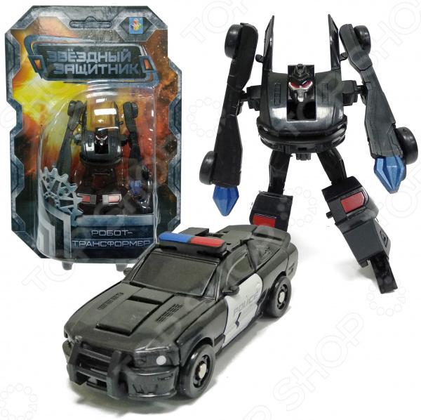 Игрушка-трансформер 1 Toy «Звездный защитник» Т59375 трансформер 1 toy звездный защитник космолет красный черный