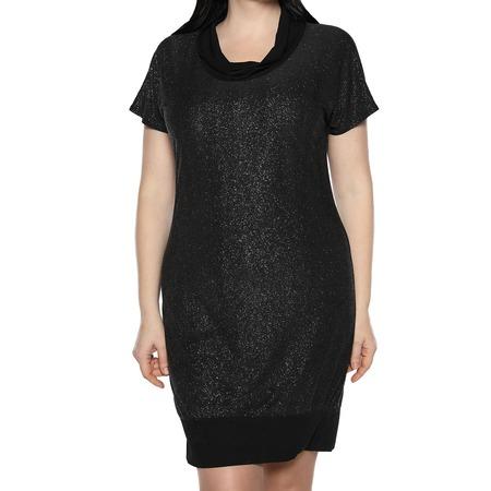 Купить Платье-туника «Алмазная россыпь». Цвет: серебристый
