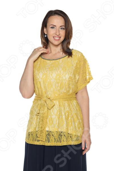 Блуза Гранд Гром «Сладкое счастье». Цвет: желтый