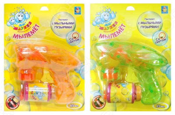 Игрушка для пускания мыльных пузырей 1 Toy «Мы-шарики!» Т58738. В ассортименте