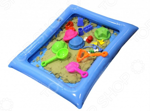 Набор для лепки из песка Bradex Smart Sand. Вес песочной массы: 1,3 кг