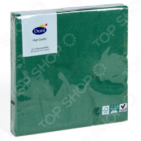 Салфетки бумажные Duni 104049