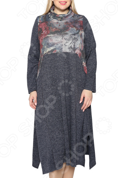 Платье Pretty Woman «Океан любви». Цвет: синий, розовый платье pretty woman неповторимая цвет розовый