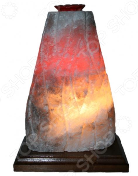 Лампа солевая Ваше здоровье «Гора. Вулкан» с ароматизатором