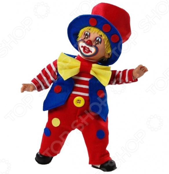 Кукла Arias «Клоун» кукла клоун arias 38см красный