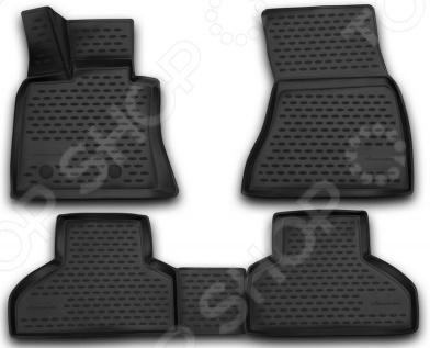 Комплект 3D ковриков в салон автомобиля Novline-Autofamily BMW X5 2013