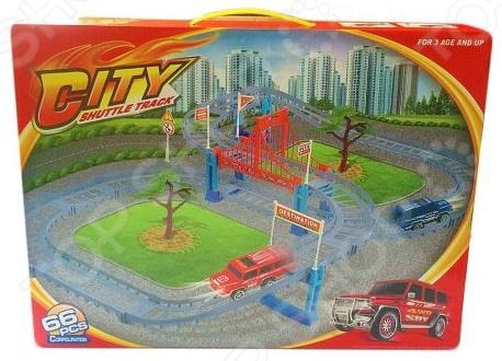 Трек гоночный Наша Игрушка «Городская трасса»