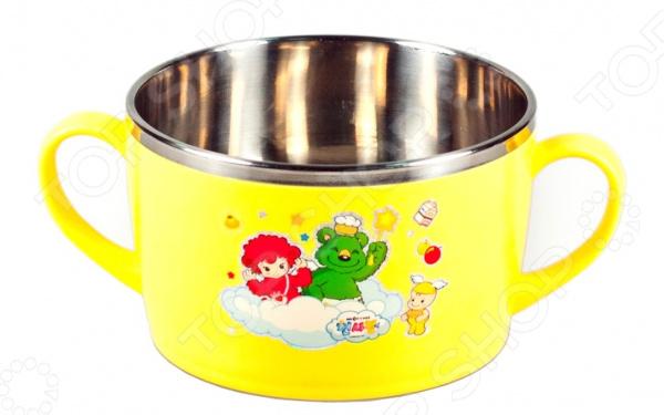 Фото - Чашка детская Sun Woo Angel vientiane wanxiang r10 400ml вакуумный автомобиль типа изоляции чашка из нержавеющей стали бизнес машина чашка мужской дамы портативный