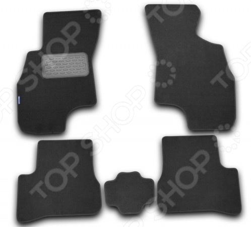 Комплект ковриков в салон автомобиля Novline-Autofamily Hyundai Accent 2000-2005. Цвет: черный комплект ковриков в салон автомобиля novline autofamily hyundai verna 2006