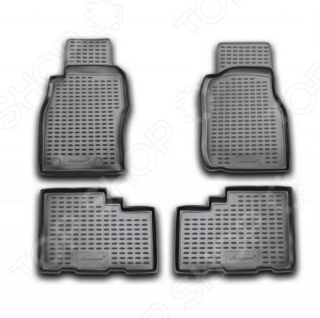 Комплект ковриков в салон автомобиля Novline Autofamily Nissan Patrol 1997-2010