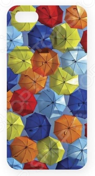 Чехол для IPhone 5 Mitya Veselkov «Зонтики»