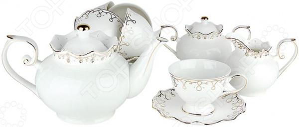 Чайный сервиз Коралл «Клеопатра» Y-ZPS17 Коралл - артикул: 1052712