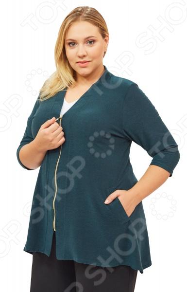 Кардиган Pretty Woman «Паула». Цвет: зеленый