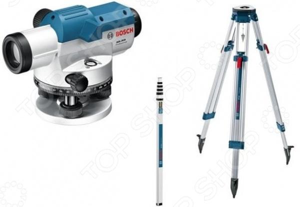 цена на Нивелир оптический Bosch GOL 20+BT160+GR500