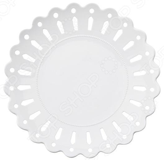Тарелка десертная круглая Maxwell&Williams «Лилия»