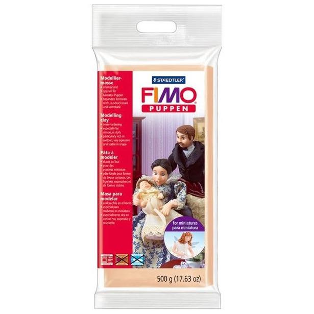 фото Глина полимерная для создания миниатюр Fimo Puppen Miniature