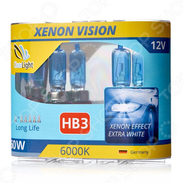 Комплект автоламп галогенных ClearLight XenonVision HB3