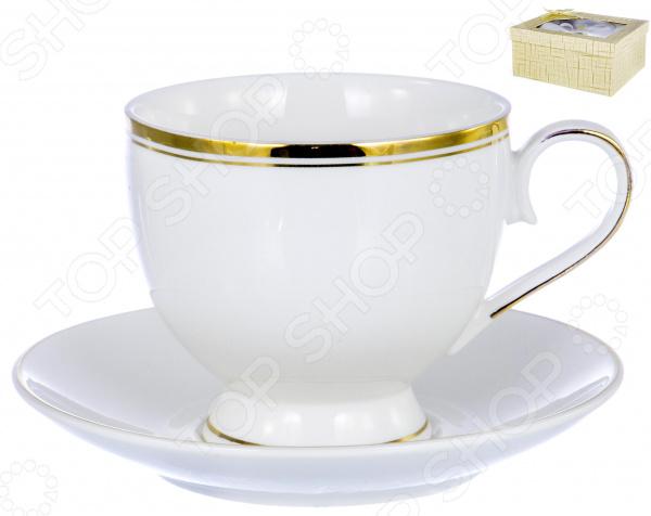 Чайная пара OlAff «Грация» 01015 цена 2017