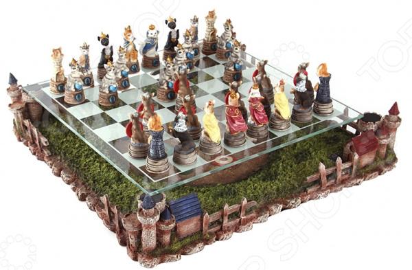 Набор для игры в шахматы «Кошки и собаки» 765-005 как тип в игре волд оф танкс