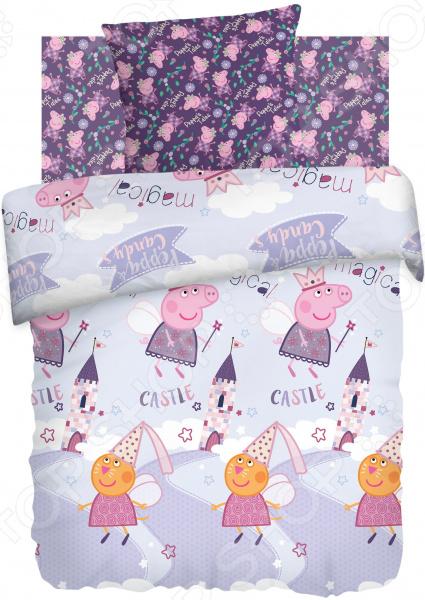 Детский комплект постельного белья Непоседа «Пеппа Фея» детский комплект постельного белья непоседа на рыбалке