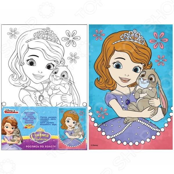 Набор для росписи по холсту Росмэн Disney «София»