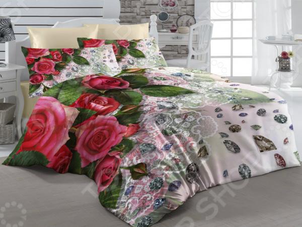 Комплект постельного белья ТамиТекс «Алмазы». 1,5-спальный