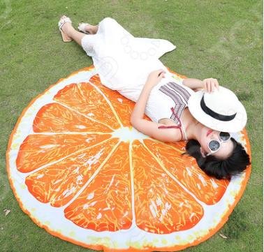 Покрывало-парео пляжное Beach Towel «Апельсин»