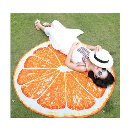 Купить Покрывало-парео пляжное Beach Towel «Апельсин»