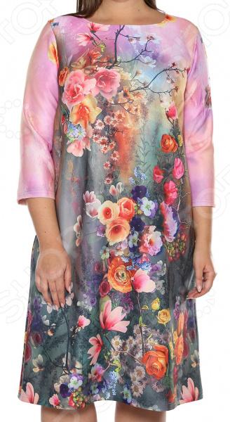 Платье Лауме-Лайн «Комильфо». Цвет: бордовый платье лауме лайн царица цвет бордовый