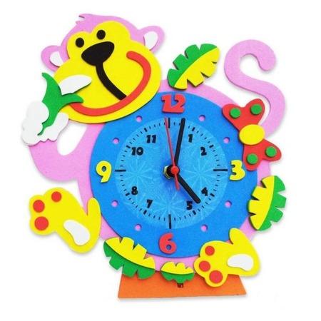 Купить Сборная модель Color Kit «Часы. Обезьянка»