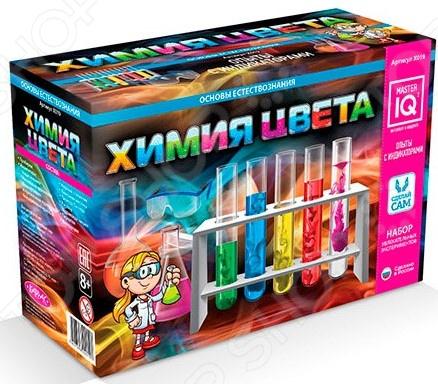 Набор для экспериментов Каррас «Химия цвета» каррас каррас набор юный парфюмер восточные ароматы