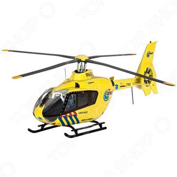 Сборная модель вертолета Revell EC135 Nederlandse Trauma сборная модель вертолета revell a 109 k2