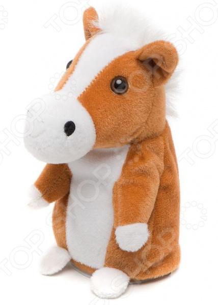 Мягкая игрушка интерактивная Woody O'Time «Лошадь-повторюшка»
