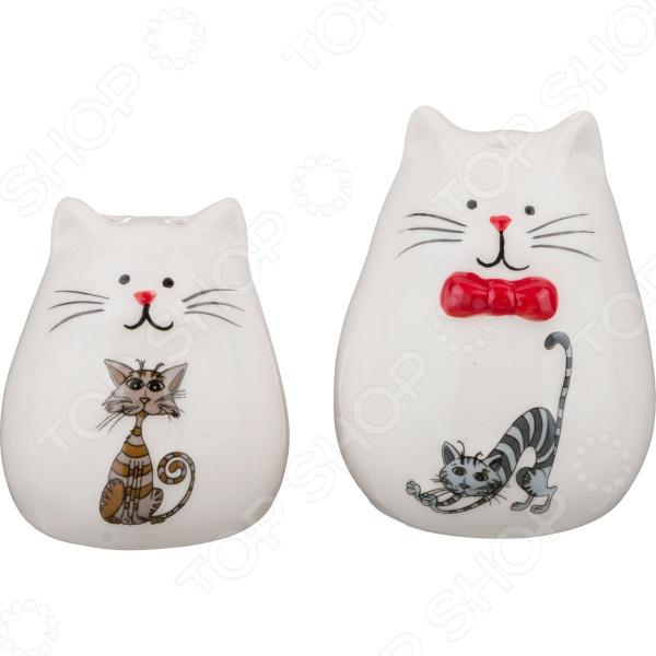 Набор для специй Lefard «Озорные коты» 188-112