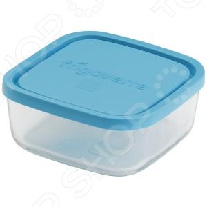 Контейнер для продуктов квадратный Bormioli Rocco Frigoverre контейнер bormioli rocco frigoverre квадратный цвет синий 750 мл