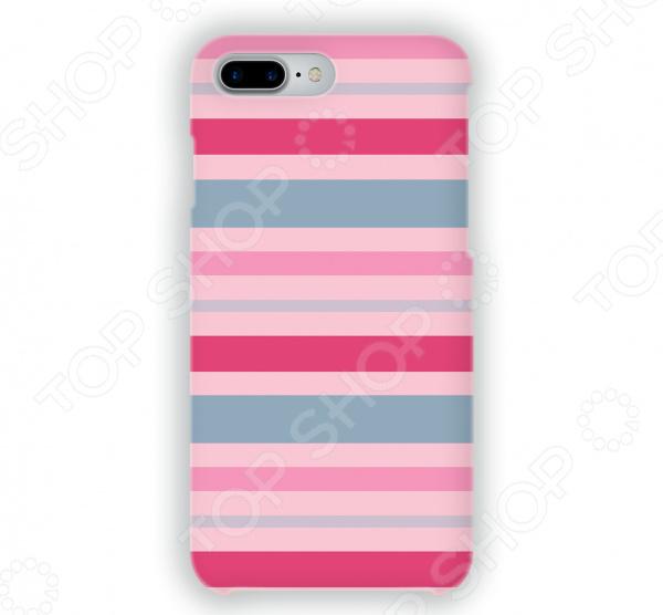 Чехол для iPhone 7 Plus Mitya Veselkov «Полосатый принт» mitya veselkov тюльпановый принт чехол для apple iphone 5 5s