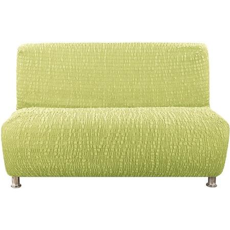 Купить Натяжной чехол на трехместный диван без подлокотников Еврочехол «Сиена Венера»