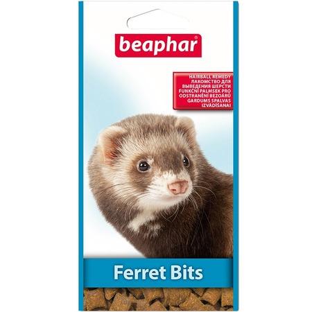 Лакомство от волосяных комочков для хорьков Beaphar Ferret Bits