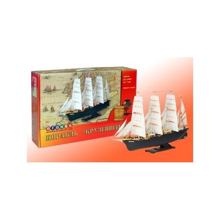 Купить Сборная модель морского судна Огонек «Крузенштерн» С-43