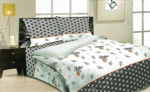 Комплект постельного белья Мар-Текс «Бансай». 1,5-спальный