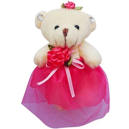 Купить Набор мягких игрушек Color Kit «Мишка». Цвет: розовый