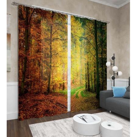 Купить Фотошторы Сирень «Осенний лес»