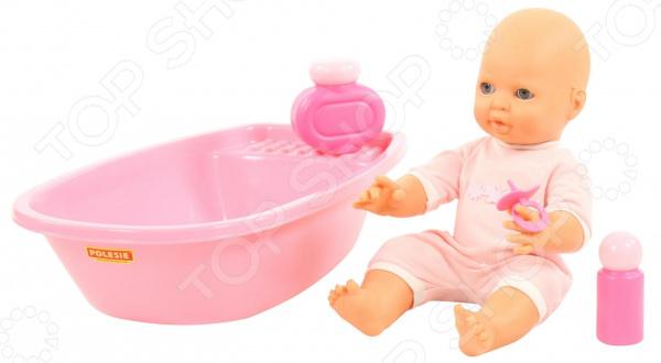 Набор для купания: кукла, ванночка и принадлежности POLESIE «Забавный пупс»