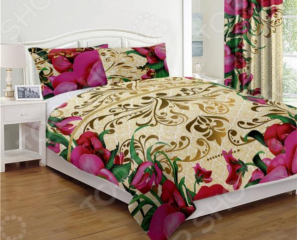 Фото - Покрывало стеганое «Соната Пинк» покрывало для кровати iraq animal husbandry ym afsm6080ljt99