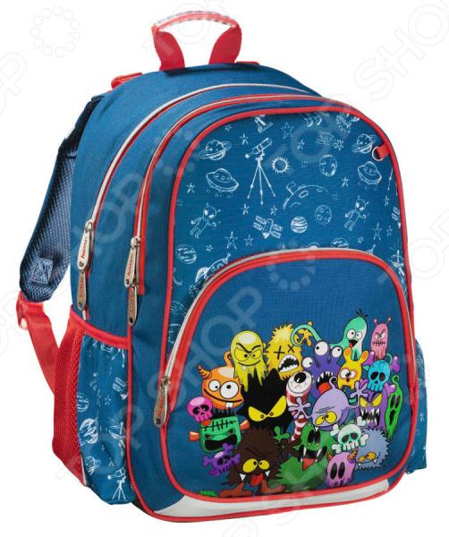 Рюкзак школьный Hama Monsters