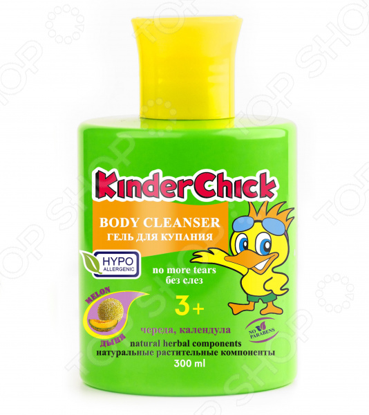 Гель для купания KinderChick «Дыня»